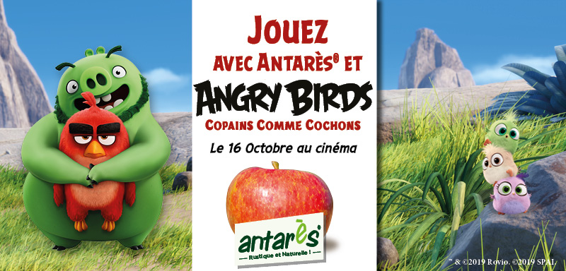 Antares Angry Birds