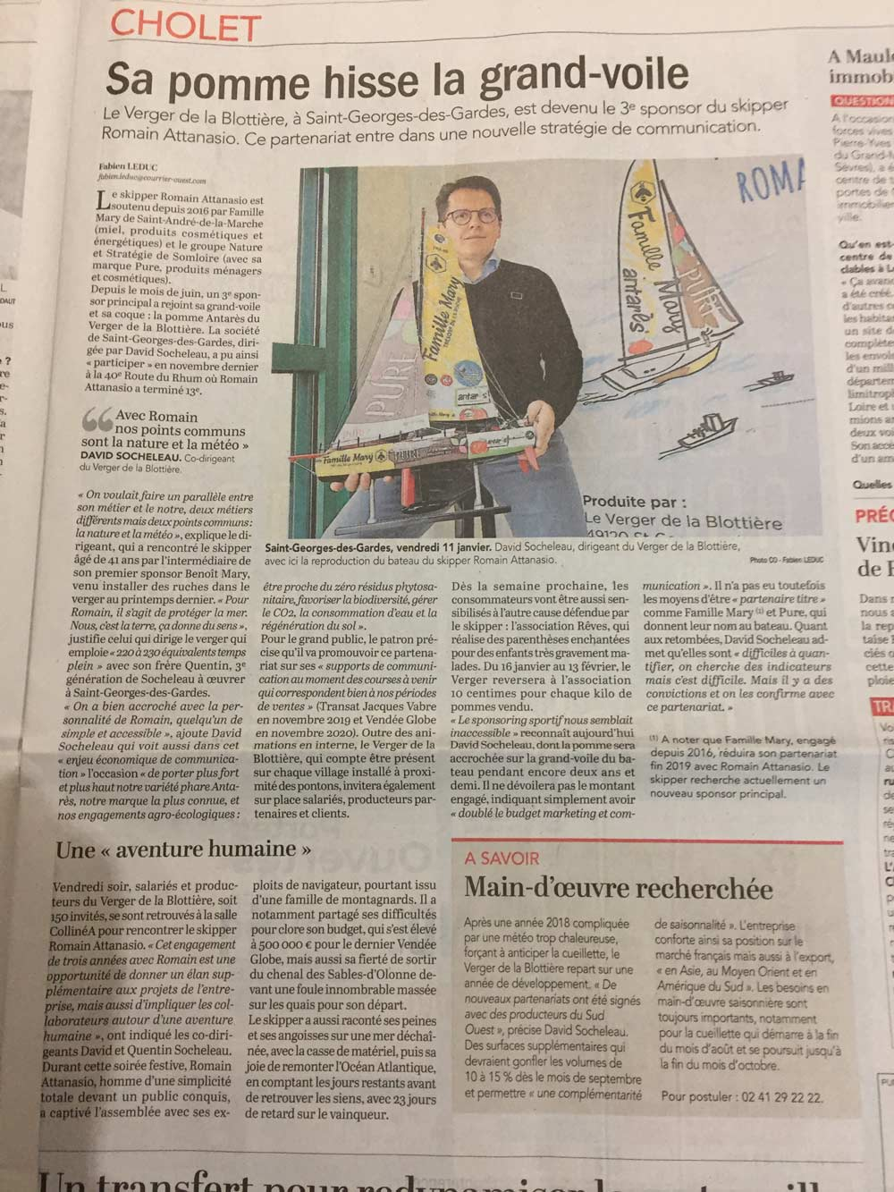 Romain Courrier de l'ouest