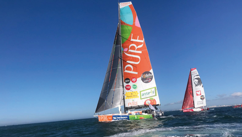 Vendee Globe Romain Attanasio